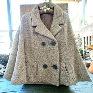 Vintage Canadian cape jacket